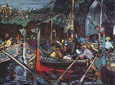 Wassily Kandinsky - Wolga lied