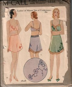 Vintage Lingerie: Where to Find 1920's and 1930's Lingerie | The Lingerie Addict | Lingerie For Who You Are