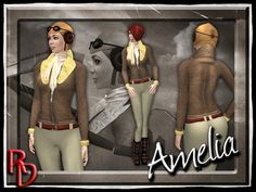 Second Life Marketplace - *RD* Amelia the Pilot