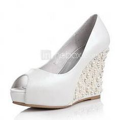 Perfect height! dance all night type shoes  Wedding wedges
