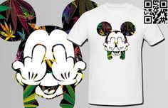DOPE Mickey Weed T-shirt