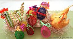 České látky - metráž z našeho eshopu www.umelluzinky.cz - Látky plné radosti --- děkujeme naší milé zákaznici Verče za poslání fotky! :) *** Czech Fabrics from our eshop. Czech Easter :).