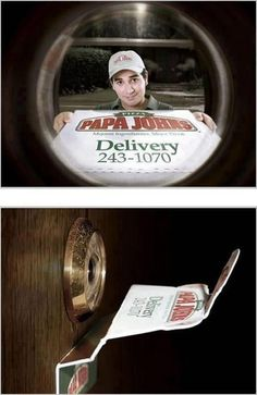 Very smart marketing idea #marketing #pizza #yum www.michigancreative.org