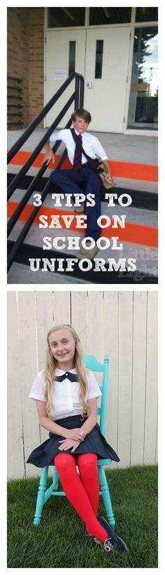 3 Tips to save on school uniforms - where to buy, how many, how to save, etc.