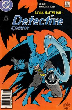 Detective Comics #578 (1937 series) - cover by Todd McFarlane