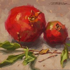 Twigs & Pomegranates by Karen Werner