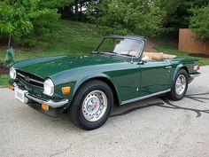 1976 triumph tr6 - my dad used to own one and would be pumped to see one