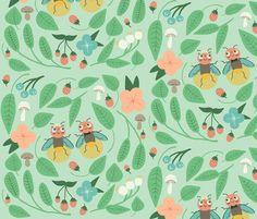 A Summer Wedding fabric by heidikenney on Spoonflower - custom fabric