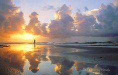 The beach in Bolivar, Texas - An unknown gem!