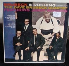 Dave Brubeck Quartet & Jimmy Rushing Lp Brubeck & Rushing Near Mint