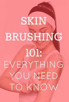 I love dry brushing! I do it twice a day and my skin is soft and it feels so invigorating. You do it in the direction of lymphatic flow.