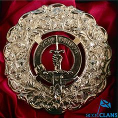 MacIntyre Clan Crest plaid Brooch