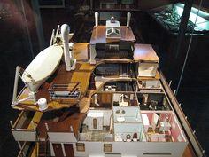 Ship interior model in the Barcelona Museu Maratim and Drassanes