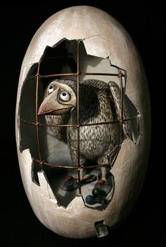 The bird in the interior by UnusualDolls on Etsy, $1100.00