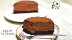 Chocolate Mousse Cake | No-Bake Chocolate Mousse Cake Recipe – without G... Cake Recipes Without Oven, Easy Cake Recipes, Baking Recipes, Dessert Recipes, No Cook Desserts, Party Desserts, Chocolate Mousse Recipe, No Bake Chocolate Cake, Chocolat Cake