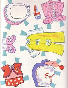 Paper Dolls~Rub-A-Dub Dolly - Bonnie Jones - Picasa Web Albums