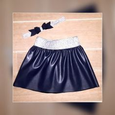 Gratis naaipatroon A-lijn rokje vanaf maat 86 (DIY- leather skirt- free pattern)