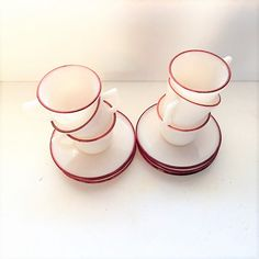 Vintage Hazel Atlas New Century Milk Glass and by TazamarazVintage