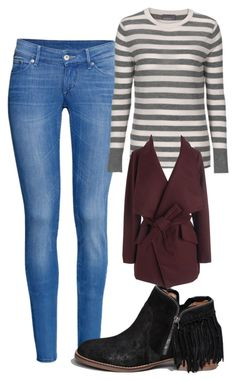 """""""Elena Gilbert Inspired Winter Outfit"""" by mytvdstyle ❤ liked on Polyvore featuring H&M, Abercrombie & Fitch, women's clothing, women's fashion, women, female, woman, misses, juniors and Inspired"""