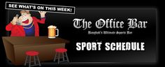 Sports Schedule across Thailand this week
