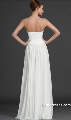 http://www.ikmdresses.com/Simple-Style-Prom-Dresses-Sweetheart-Ruffled-Bodice-A-Line-Floor-Length-Beaded-Chiffon-p84449
