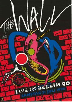 Roger Waters The Wall Live in Berlin 1990 Poster 25x35 – BananaRoad