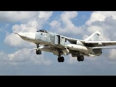 Record flights of in the zone of the Russian Su-24 aircraft that was hit...
