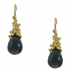 Erica Molinari London Blue Topaz Cluster Earrings