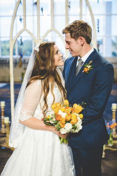 Joy and Austin Forsyth's Wedding Photos | Counting On | TLC