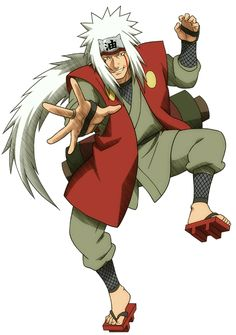 Jiraiya sensei or erro sennin or famous author of c grade books :-)