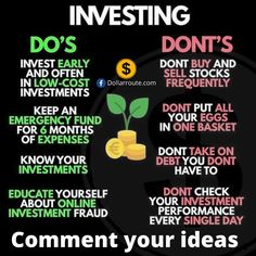 Investing 101 - Finance tips, saving money, budgeting planner Financial Quotes, Financial Literacy, Financial Tips, Business Money, Business Tips, Online Business, Bank Of America, Investment Tips, Investment Books