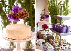 Cute and Original cake topper. Colors might be nice for an LSU-themed event too.