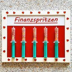 #finanzspritzen #finanzspritze #geld #geldgeschenk #hochzeit #hochzeitsgeschenk #money #present #wedding #instacool #follow
