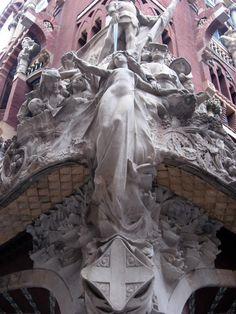 Detaliu Palau de la Musica Catalana