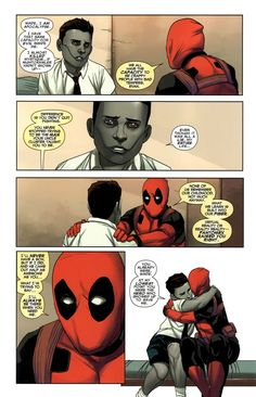 A tender moment with Deadpool and Genesis~