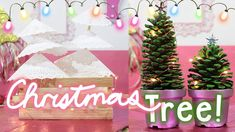 Árboles De Navidad Mini!! - Say Yess! Table Decorations, Mini, Home Decor, Decoration Home, Room Decor, Home Interior Design, Dinner Table Decorations, Home Decoration, Interior Design