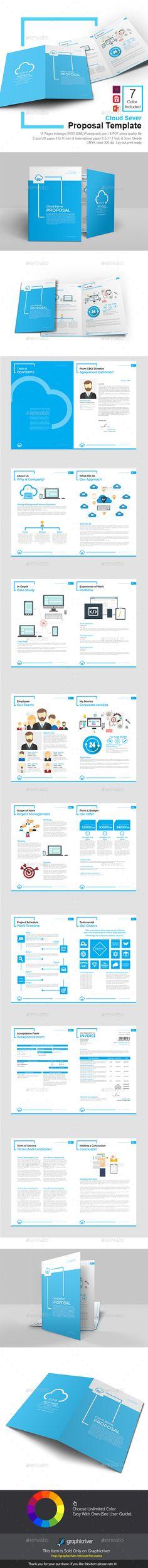 Proposal Bundle u2014 Photoshop PSD #letter #booklet u2022 Download - advertising proposal template