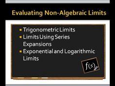 Limits: Evaluating Non-Algebraic Limits IIT JEE Maths 11th 12th CBSE