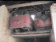 VW Kombi stash found