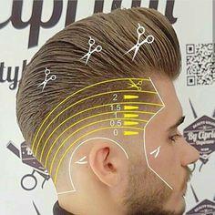 curly-on-top-fade-haircut-for-men – World Trends Fashion Barber Haircuts, Haircuts For Men, Hair And Beard Styles, Curly Hair Styles, Hair Hub, Men's Hair, Hair Cutting Techniques, Barbers Cut, Fade Haircut