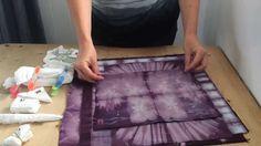 Shibori folding tuto