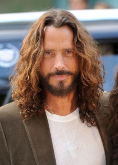 chris cornell | Chris Cornell Musician/actor Chris Cornell arrives at the premiere of ...