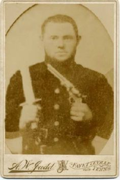 Robert McMillin, Co. E, 44th Tennessee Infantry. McMillin was mortally wounded at the Battle of Murfreesboro. He received four wounds and was carried to a field hospital by his comrades where he died on January 3, 1863.