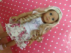 American Girl DIY • Circle Skirt