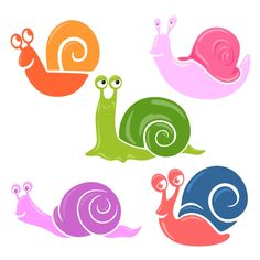 Snail Pack SVG Cuttable Design