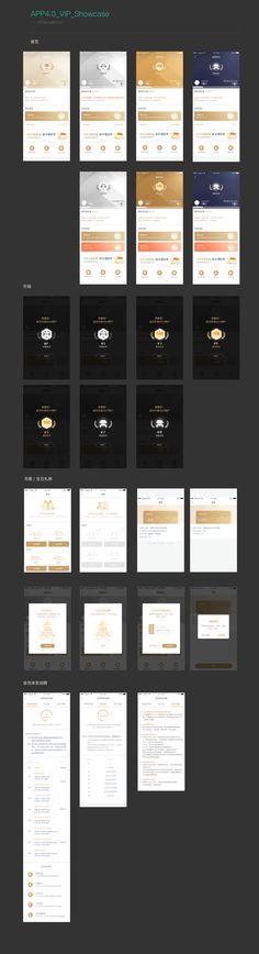 会员体系UI on Behance Web Ui Design, Graphic Design, Ux Wireframe, Jobs Apps, Ui Kit, App Ui, Mobile Ui, Online Portfolio, User Interface