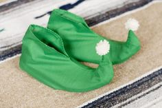 How to Make Elf Shoe Covers