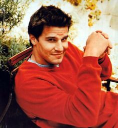 "Awwww...David Boreanaz  ""Angel"" still swooning"