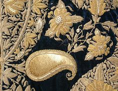 Wedding coat Date: 1907 Culture: Indian Medium: silk, metallic threads, sequins