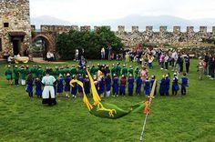 24 maggio, una Giornata Fantastica alla Rocca di Lonato del Garda (Bs) Avventura in costume con Re Artù, Ginevra e i Cavalieri della Tavola rotonda